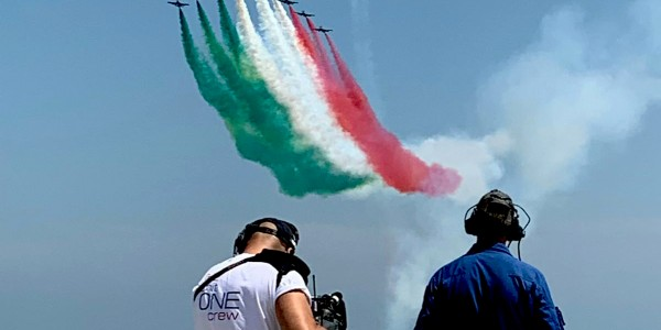 2019 June - The Frecce Tricolori in Ravenna